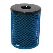 Diamond Pattern 32 Gallon Waste Receptacle, F10151