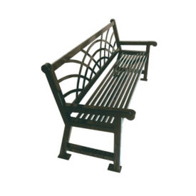 Outdoor Bench Morning Back Design 6', F10281