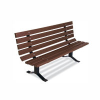 Recycled Plastic Bench 6'L, F10284