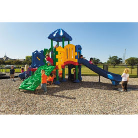 Large Outdoor Playground with Ground Spike, P30391