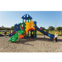 Large Outdoor Playground with Anchor Bolt, P30392