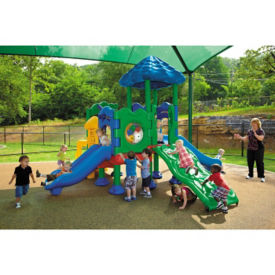 Medium Outdoor Playground with Anchor Bolt, P30395