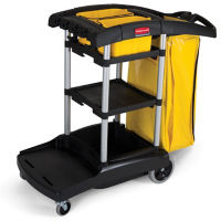 High-Capacity Cleaning Cart, V21312
