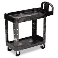 Heavy Duty 2 Shelf Utility Cart, B34411