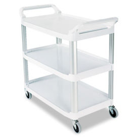 "3 Shelf Utility Cart 38""W, B34435"