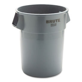 Round Waste Container 55 Gallon, R20210