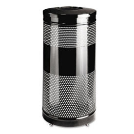 Open Top Trash Can 28 Gallon Capacity, R20219