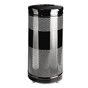 Open Top Trash Can 28 Gallon Capacity, R20219