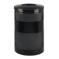 Open Top Trash Can 51 Gallon Capacity, R20220