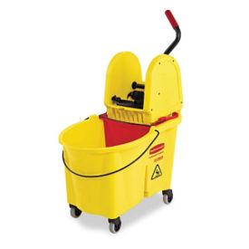 Mop Bucket with Down Press Wringer System 44 Qt, V21316