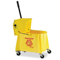 Mop Bucket with Side Press Wringer 44 Qt, V21317