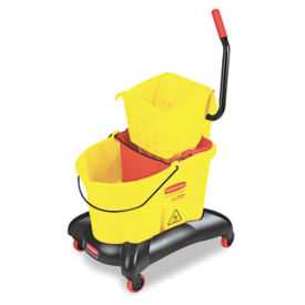 Dual Water Cleaning Cart, V21320