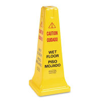 "Multi-Lingual Safety Cone 25""H, V21324"