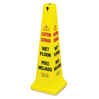 "Multi-Lingual Safety Cone 36""H, V21325"