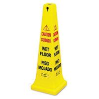 "Multi-Lingual Safety Cone 36""H, V21325"
