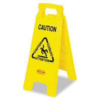 "Multi-Lingual Caution Cone 25""H, V21327"
