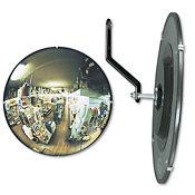 """Round Convex Security Mirror - 12"""" Diameter, V21388"""