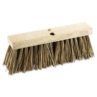 "Street Broom Head with Palmyra Bristles 16""W - Carton of three, V21769"