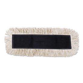 "Disposable Dust Mop Head 24"" x 5"" - Carton of Six, V21774"
