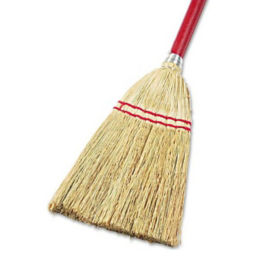 Corn Bristle Lobby Broom - Carton of Six, V21797