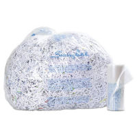 Plastic Shredder Bags - 6-8 Gallon, V21949