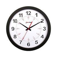 "Titan 15"" Plastic Synchronized Clock, V22078"