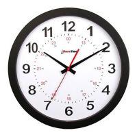 """Pluto 12"""" Plastic Synchronized Clock, V22079"""