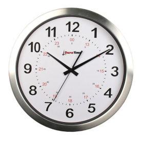 "Callisto 15"" Aluminum Synchronized Clock, V22080"