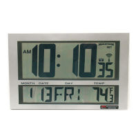 Digital Wireless LCD Synchronized Clock, V22084