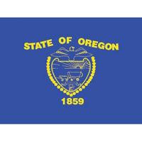 Oregon State Flag 3' Wide x 5' Long, D90158