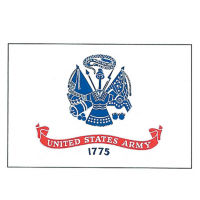 US Armed Forces Flag 3' Wide x 5' Long, D90160