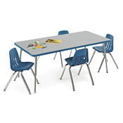 "Child-Height Activity Table 60"" x 30"", A10989"