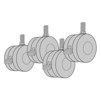 Casters 4 Pack, V34024