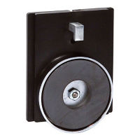 Magnet Mount Wall Plate for Wall Mount Barrier, V21892