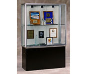 "48"" Lit Pedestal Display Case, B32125"