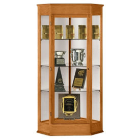 Corner Display Case, B32120