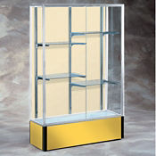 "48"" Wide Spirit Display Case with Fabric Back, B32167"