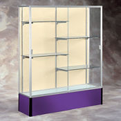"60"" Wide Spirit Display Case with Fabric Back, B32168"