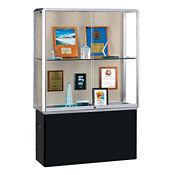 "Two Shelf Lockable Display Case - 72"" H, B34500"
