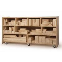 Big Block Mobile Storage Cabinet, B30500