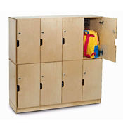Eight Compartment Backpack Lockers, B30508
