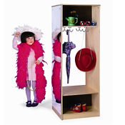 Child Wardrobe with Full Size Mirror, B30512