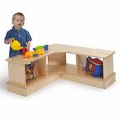 Corner Storage Bench, B30521