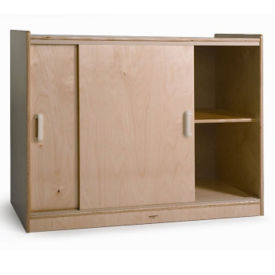 Sliding Door Storage Cabinet, B30529