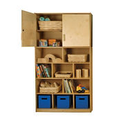 Wall Storage Shelf and Top Cabinet, B34305