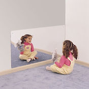 "Rectangular Mirror 48""W x 24""H, P30235"