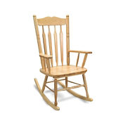Solid Hardwood Adult Rocking Chair, P30236
