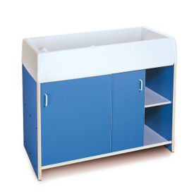 Diaper Changing Table with Cabinet, P30243