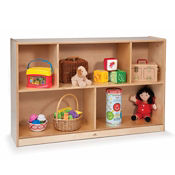 Preschool Birch Storage Cabinet, P30245