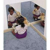 Preschool Acrylic Corner Mirror, P30246